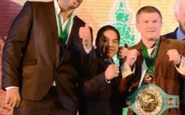 Кличко, Хаттон и Чарр на ежегодной конвенции WBC