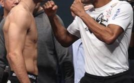 UFC 168: взвешивание