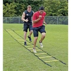 Упражнения для ног на тренировочной лестнице