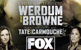 Прямая трансляция UFC ON FOX 11: Вердум — Браун, Тейт — Кармуш, Нурмагомедов — Дос Аньос