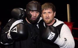Рамзан Кадыров помогает Руслану Чагаеву готовиться к бою против Окендо