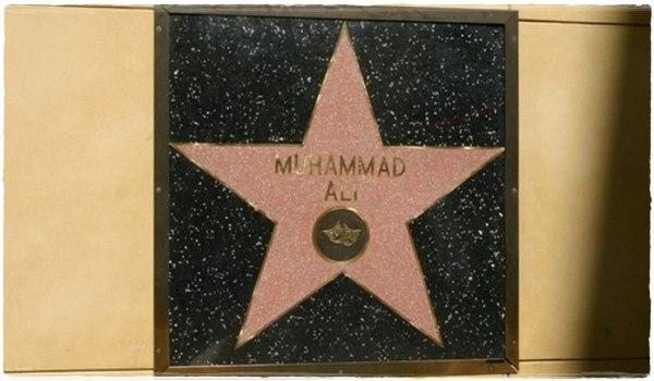Звезда Мухаммеда Али на Аллее славы
