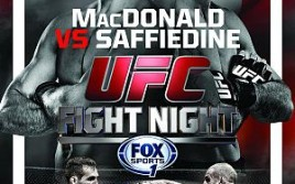 Прямая трансляция UFC Fight Night 54: Рори Макдональд — Тарек Саффедин, Альберт Туменов — Мэтт Дуайер