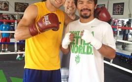 (ЭКСКЛЮЗИВ) Спарринг-партнёр Мэнни Пакьяо Стэн Мартынюк рассказал о тренировках с легендарным бойцом