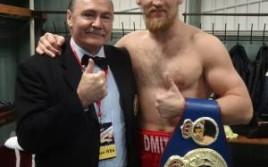 Дмитрий Кудряшов поднялся на 6 позиций в рейтинге WBC