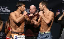 Прямая трансляция турнира UFC on Fox 15: Лиото Мачида — Люк Рокхолд