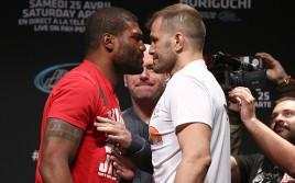 Прямая трансляция UFC 186: Куинтон Джексон — Фабио Мальдонадо, Джонсон — Хоригучи