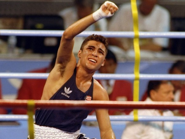 Оскар Де Ла Хойя на Олимпиаде