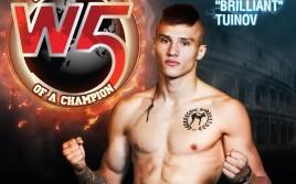 Владислав Туйнов будет боксировать в главном бою вечера на KINGZ III