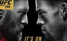 Прямая трансляция UFC 196: Конор Макгрегор — Нейт Диаз