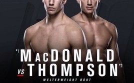Рори Макдональд и Стивен Томпсон подерутся на UFC Fight Night 89