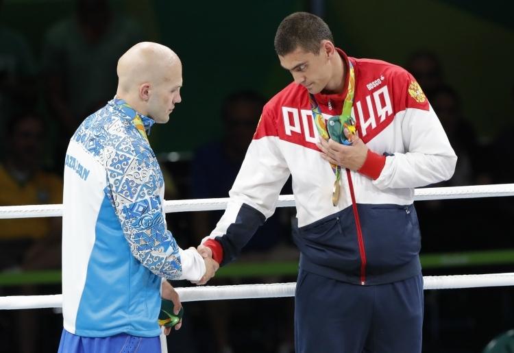 Русский боксер Евгений Тищенко завоевал золото Олимпийских игр