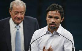 Боб Арум: Мэнни Пакьяо задержится в боксе на один год