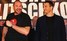 Известна окончательная дата реванша «Тайсон Фьюри — Владимир Кличко»