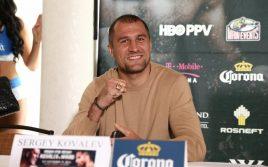 Сергей Ковалев: Если Уорд будет меня хватать, я сломаю ему руки!