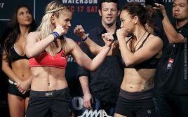 Результаты турнира UFC on Fox 22: Мишель Уотерсон — Пейдж Ванзант