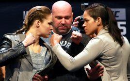 Где и когда смотреть онлайн турнир UFC 207: Ронда Роузи — Аманда Нуньес
