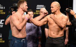 Результаты и бонусы турнира UFC 211: Джуниор Дос Сантос — Стипе Миочич 2