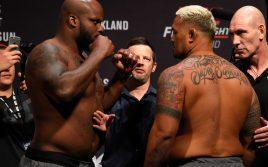 Результаты турнира UFC Fight Night 110: Марк Хант — Деррик Льюис
