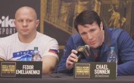 Чел Соннен: Федор Емельяненко - мешок!