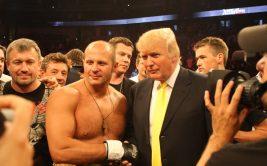 Дональд Трамп - фанат Федора Емельяненко, не пропустивший ни одного его боя на территории США