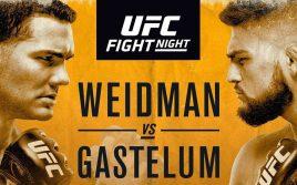 Прямая трансляция UFC Fight Night 114: Крис Вайдман — Келвин Гастелум