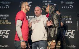 Результат и видео боя Тони Фергюсон - Кевин Ли, UFC 216
