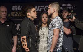 Серхио Петтис - Генри Сехудо, бой на UFC 218