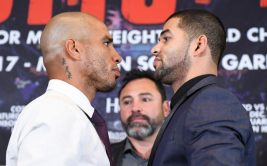 2 декабря в Нью-Йорке состоится бой между Садамом Али и Мигелем Котто, владеющим титулом чемпиона мира по версии WBO в первом среднем весе. Этот бой станет последним в очень насыщенной карьере Котто.