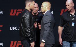 """Где и когда смотреть онлайн UFC 217. Прямая трансляция боя """"Майкл Биспинг - Джордж Сент-Пьер"""""""