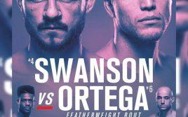 Результаты UFC Fight Night: Свонсон VS. Ортега