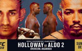 Результаты UFC 218: Жозе Альдо vs. Макс Холлоуэй 2