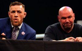 Дана Уайт: Расслабьтесь, Макгрегор никогда не выйдет на ринг