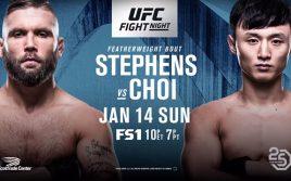 Результаты турнира UFC Fight Night 124: Джереми Стивенс — Ду Хо Чой
