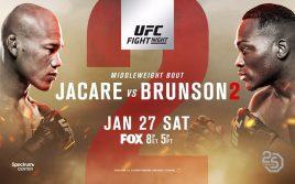 Результаты турнира UFC on Fox 27: Соуза — Брансон 2