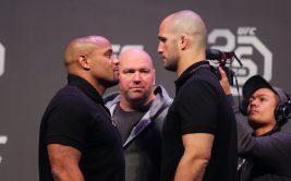 Даниэль Кормье - Волкан Оздемир, бой на UFC 220