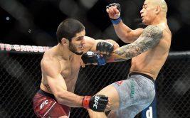 Ислам Махачев - Глейсон Тибау, видео боя на UFC 220