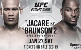 Результаты взвешивания UFC on Fox 27: Соуза — Брансон 2