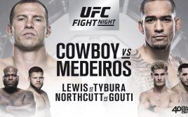 Результаты взвешивания UFC Fight Night 126: Серроне — Медейрос