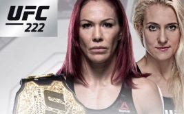 Где и когда смотреть онлайн UFC 222. Прямая трансляция боя «Крис Сайборг - Яна Куницкая»