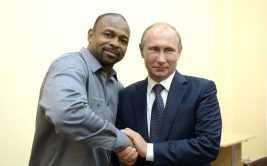 Рой Джонс высказался о президенте России Владимире Путине