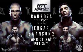 Результаты UFC Fight Night 128: Барбоза Ли