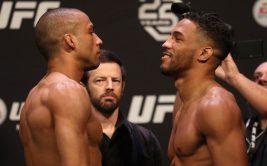 Где и когда смотреть онлайн UFC Fight Night 128. Прямая трансляция боя Эдсон Барбоза - Кевин Ли