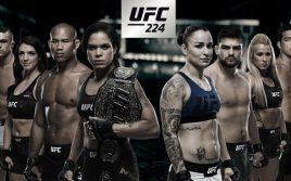 Результаты взвешивания к UFC 224