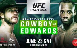 Результаты взвешивания UFC Fight Night 131: Серроне — Эдвардс