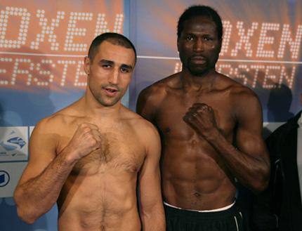 Самые высокие боксеры