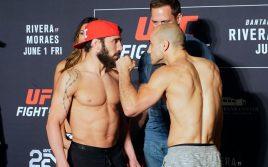 Результаты турнира UFC Fight Night 131: Ривера — Мораес