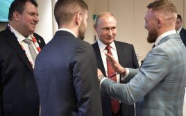 Американский журналист проехался серьёзной критикой по Конору Макгрегору за фотографию с Владимиром Путиным