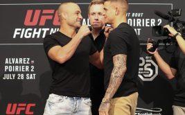 Прямая трансляция боя Эдди Альварес - Дастин Порье 2, Альдо - Стивенс. Смотреть онлайн UFC on Fox 30