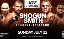 Результаты турнира UFC Fight Night 134: Руа — Смит